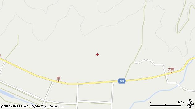 大分県佐伯市木立5001周辺の地図