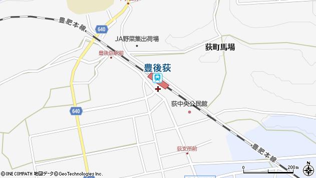 大分県竹田市荻町馬場412周辺の地図