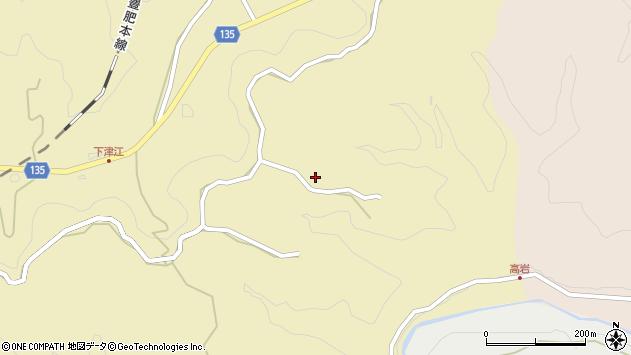 大分県竹田市荻町馬背野940周辺の地図