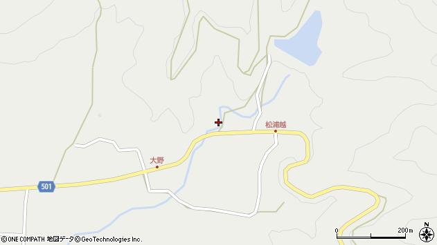 大分県佐伯市木立5209周辺の地図