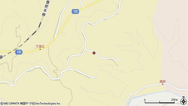 大分県竹田市荻町馬背野941周辺の地図