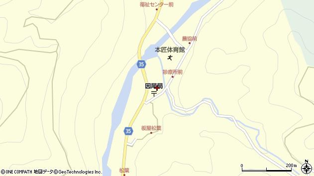 大分県佐伯市本匠大字堂ノ間1283周辺の地図