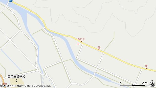 大分県佐伯市木立5984周辺の地図