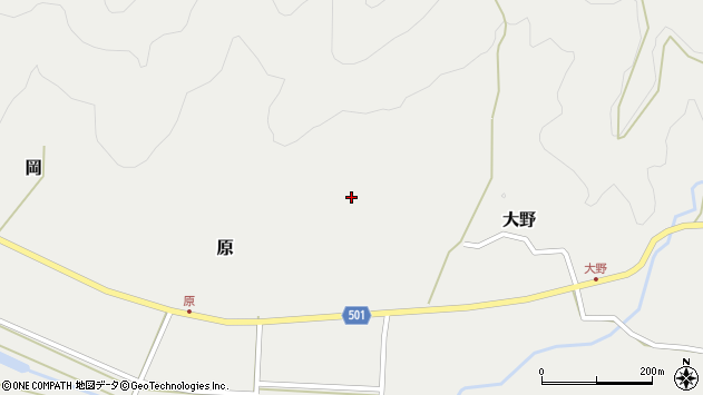 大分県佐伯市木立4950周辺の地図