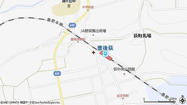 大分県竹田市荻町馬場411周辺の地図