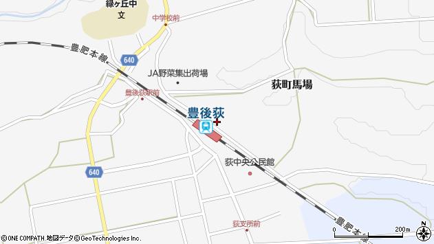 大分県竹田市荻町馬場373周辺の地図