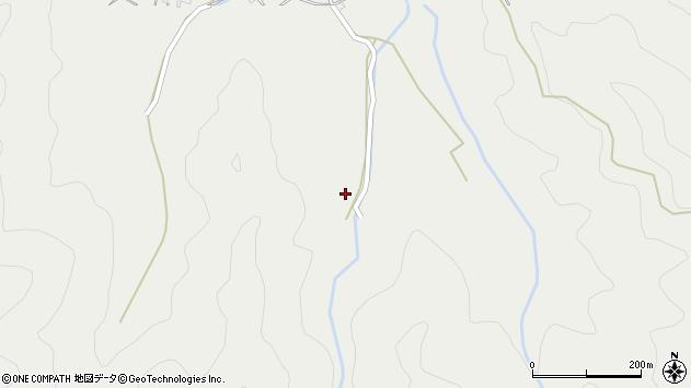 大分県佐伯市長良3894周辺の地図