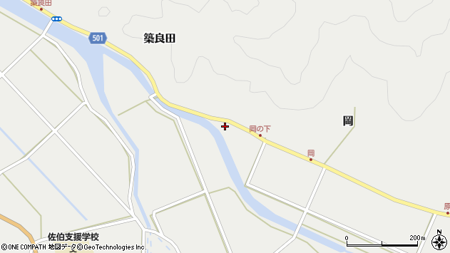 大分県佐伯市木立5927周辺の地図