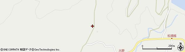 大分県佐伯市木立5110周辺の地図