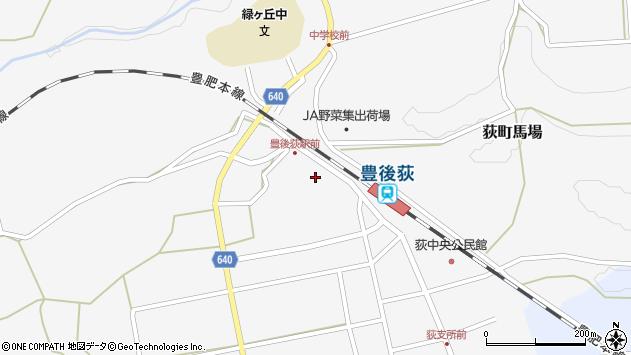 大分県竹田市荻町馬場403周辺の地図