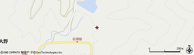 大分県佐伯市木立5251周辺の地図