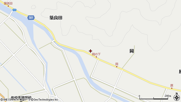 大分県佐伯市木立5968周辺の地図