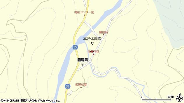 大分県佐伯市本匠大字堂ノ間1055周辺の地図