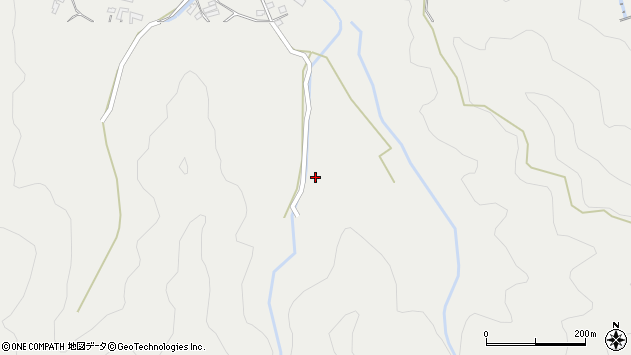 大分県佐伯市長良3908周辺の地図