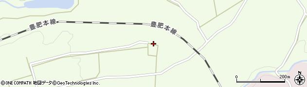 大分県竹田市荻町藤渡854周辺の地図