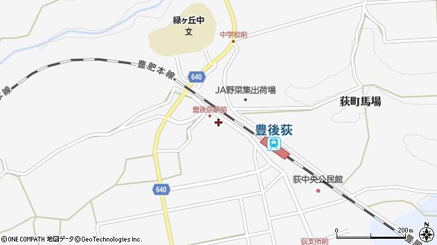大分県竹田市荻町馬場944周辺の地図