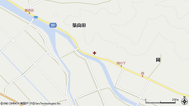 大分県佐伯市木立5929周辺の地図