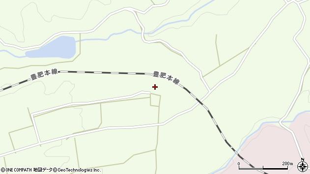 大分県竹田市荻町藤渡853周辺の地図