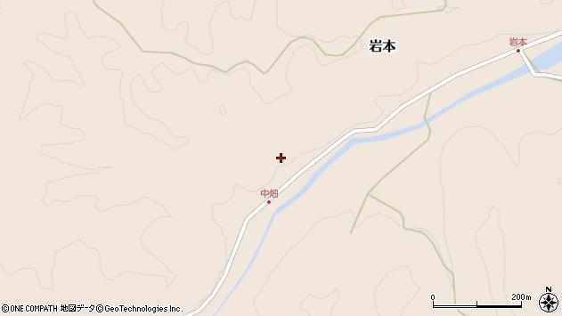 大分県竹田市岩本1356周辺の地図