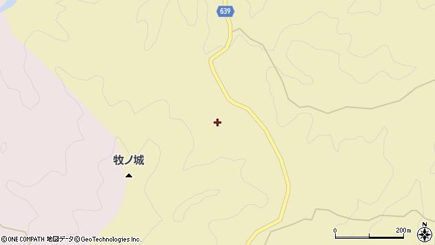 大分県竹田市入田822周辺の地図