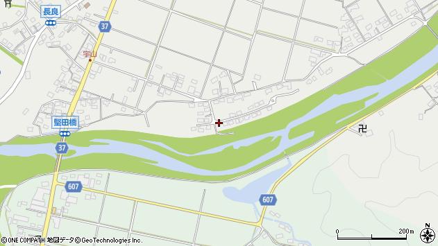 大分県佐伯市長良1593周辺の地図