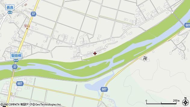 大分県佐伯市長良1640周辺の地図