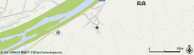大分県佐伯市長良2296周辺の地図