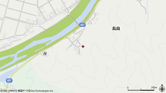 大分県佐伯市長良2337周辺の地図