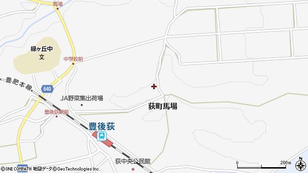 大分県竹田市荻町馬場987周辺の地図