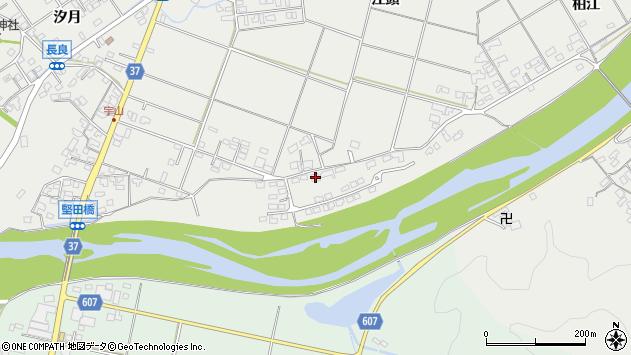 大分県佐伯市長良1610周辺の地図