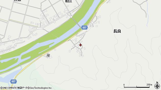 大分県佐伯市長良2424周辺の地図