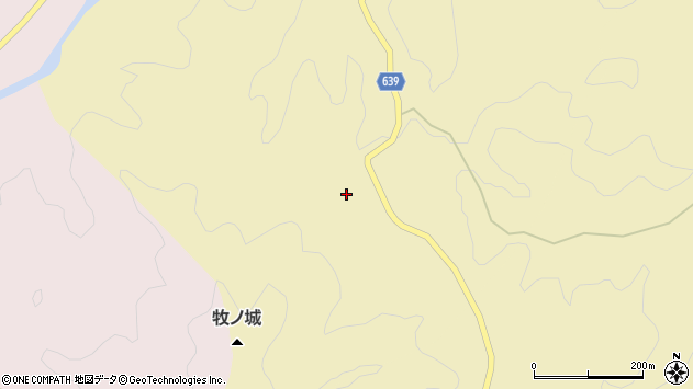 大分県竹田市入田917周辺の地図