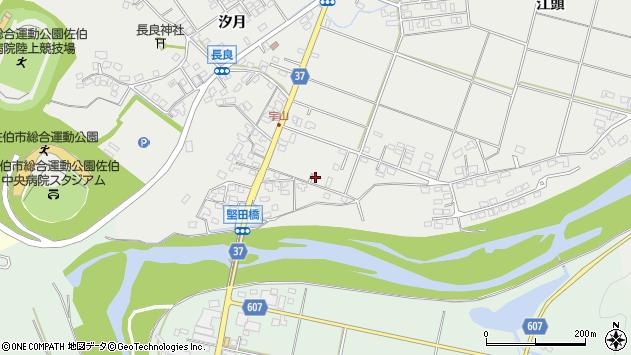 大分県佐伯市長良712周辺の地図