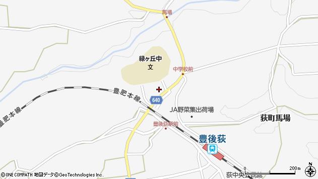大分県竹田市荻町馬場865周辺の地図