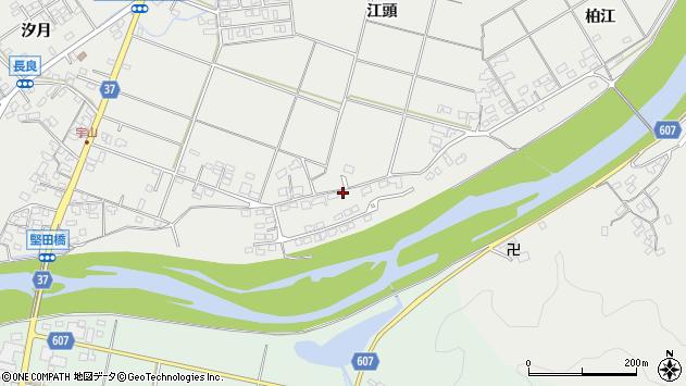 大分県佐伯市長良1619周辺の地図