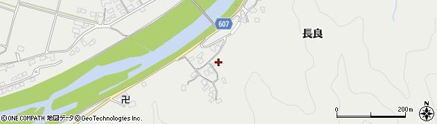 大分県佐伯市長良2427周辺の地図