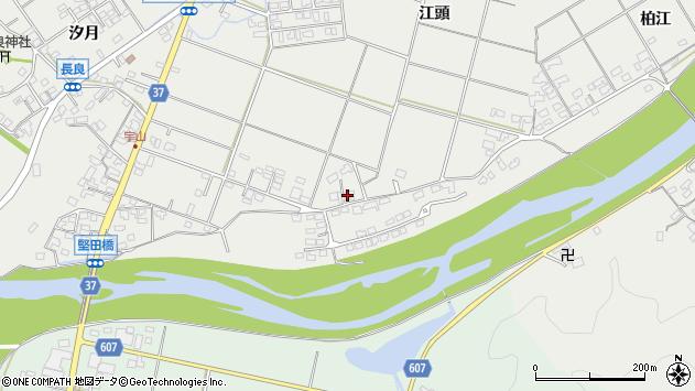 大分県佐伯市長良1552周辺の地図
