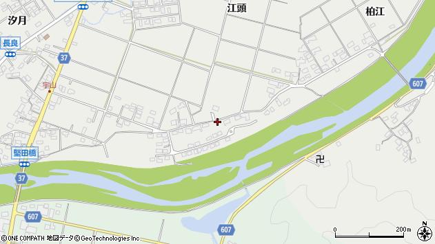 大分県佐伯市長良1621周辺の地図