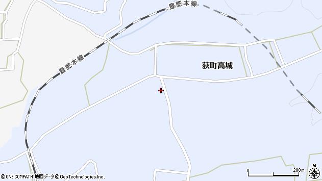 大分県竹田市荻町高城957周辺の地図
