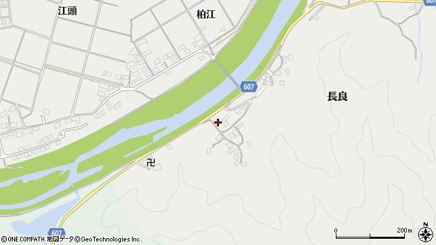 大分県佐伯市長良2436周辺の地図