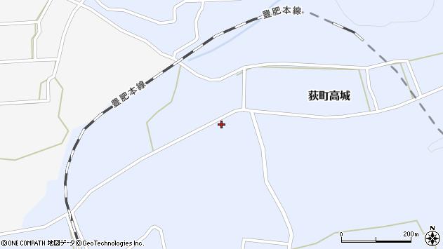 大分県竹田市荻町高城955周辺の地図