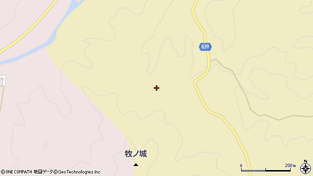 大分県竹田市入田929周辺の地図