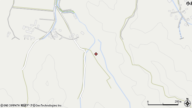 大分県佐伯市長良4035周辺の地図