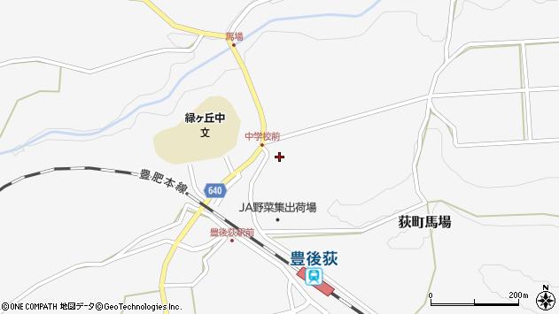 大分県竹田市荻町馬場952周辺の地図