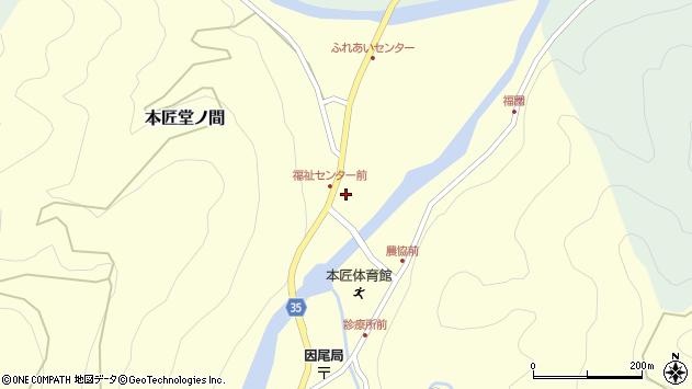 大分県佐伯市本匠大字堂ノ間295周辺の地図