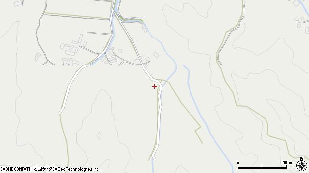 大分県佐伯市長良3847周辺の地図