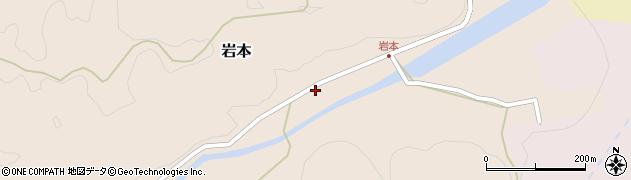 大分県竹田市岩本1481周辺の地図