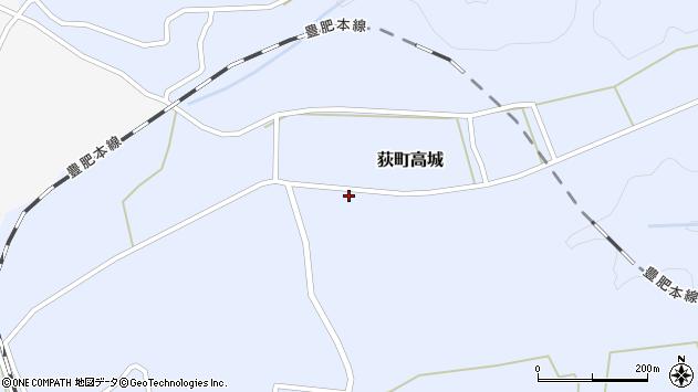 大分県竹田市荻町高城950周辺の地図