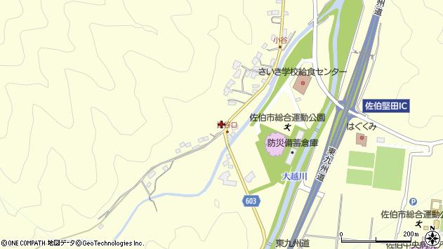 大分県佐伯市長谷5561周辺の地図