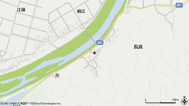 大分県佐伯市長良2446周辺の地図